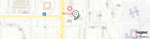 Beauty Line на карте Саранска