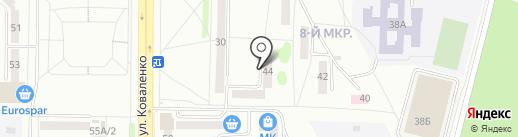 Торговая компания на карте Саранска