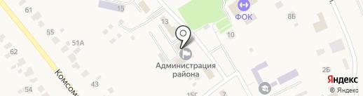 Фонд социального страхования РФ по Республике Мордовия на карте Лямбиря