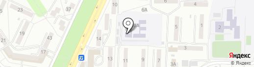 Детский сад №104 на карте Саранска