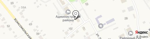 Социальная защита населения по Лямбирскому району Республики Мордовия на карте Лямбиря
