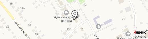 Социальная защита населения по Лямбирскому району Республики Мордовия, ГКУ на карте Лямбиря