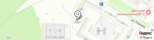 Зер Гут на карте Саранска