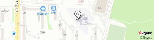 Детский сад №103 на карте Саранска