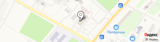 Пилигрим на карте Саранска
