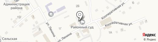 Лямбирский районный суд на карте Лямбиря