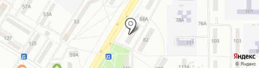 Цветочный салон на карте Саранска