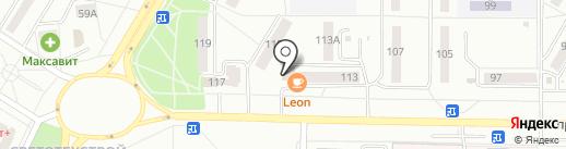Саранскхимчистка на карте Саранска