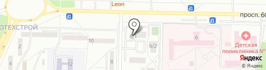 Компания по санитарной обработке помещений на карте Саранска