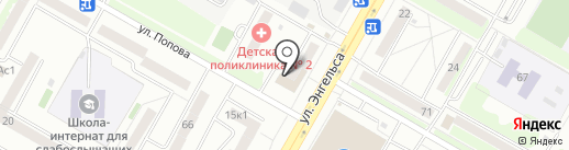 Пивко на карте Саранска