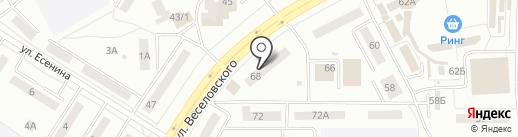 Почтовое отделение №21 на карте Саранска