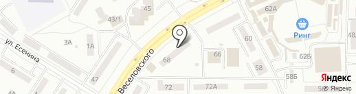 Центр налоговой консультации на карте Саранска