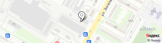 Банкомат, КБ Возрождение на карте Саранска