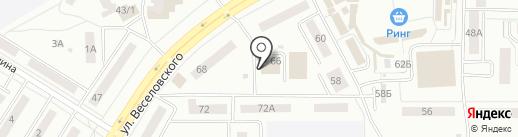 Ринг на карте Саранска