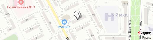 Чистюля на карте Саранска
