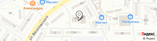Баня №7 на карте Саранска