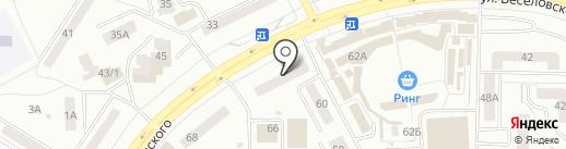 GSM-Master на карте Саранска