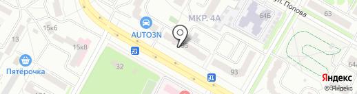 ДОМКОМ-СЕРВИС на карте Саранска
