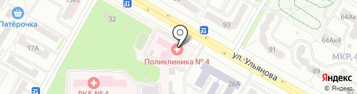 Росгосстрах-Мордовия-Медицина на карте Саранска