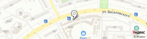 Левый Правый на карте Саранска