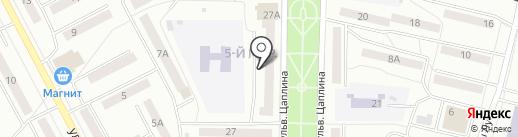 Макс на карте Саранска