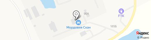 Спецтранс-МАЗ на карте Лямбиря