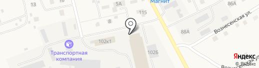 Почтовое отделение на карте Лямбиря