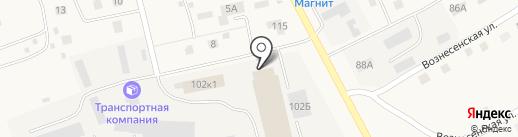 Производственная фирма на карте Лямбиря