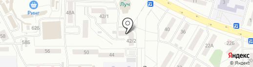 Магазин бытовой техники и газового оборудования на карте Саранска