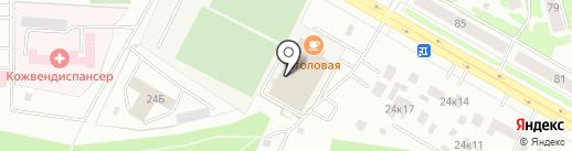 СДЮСШОР им. Л.Я. Аркаева по гимнастике на карте Саранска