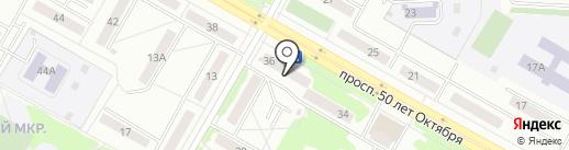 Уютный дом на карте Саранска