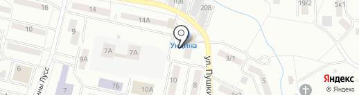 Ундина на карте Саранска