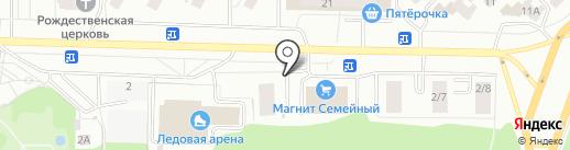 Лесная Сказка на карте Саранска