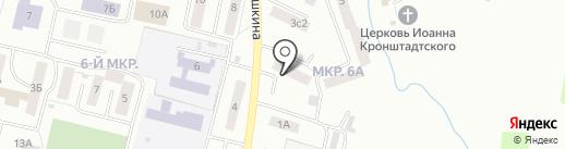 Фантазия на карте Саранска