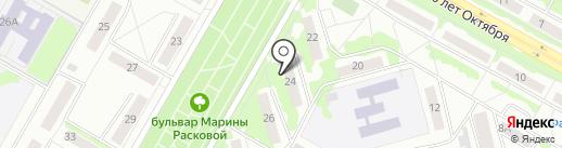 Почтовое отделение №19 на карте Саранска