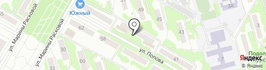 Магазин бытовой химии на карте Саранска