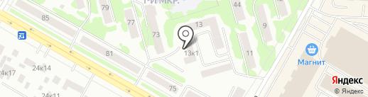 Волго-Вятский банк Сбербанка России на карте Саранска
