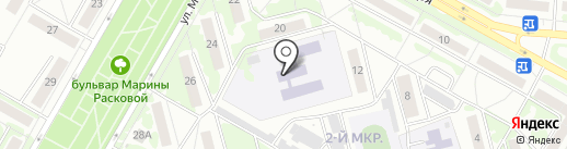 Детский сад №64 на карте Саранска