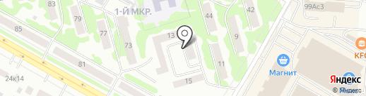 Умарина на карте Саранска