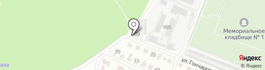 Радиотелевизионный передающий центр Республики Мордовия на карте Саранска