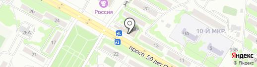 ИЗЮМ на карте Саранска