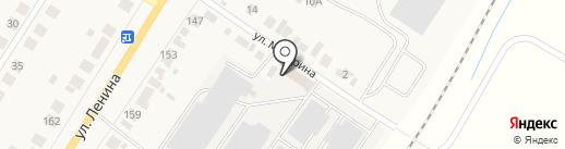 Дионис на карте Саранска