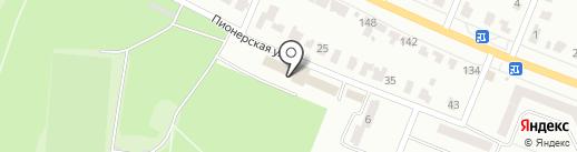 Мордовия на карте Саранска