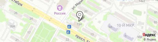 У Бориса на карте Саранска