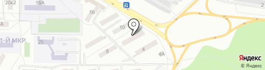 Библиотека №1 на карте Саранска