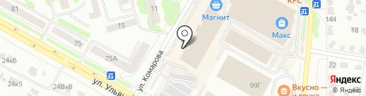 ЭкспрессДеньги на карте Саранска