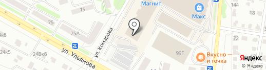 Магазин пряжи на карте Саранска