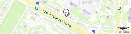 Окна Магнит на карте Саранска