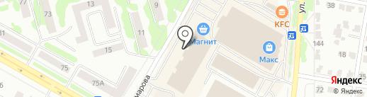 Швейная мастерская по ремонту одежды на карте Саранска