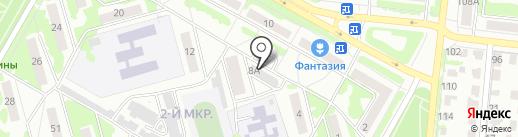 SharDarom на карте Саранска
